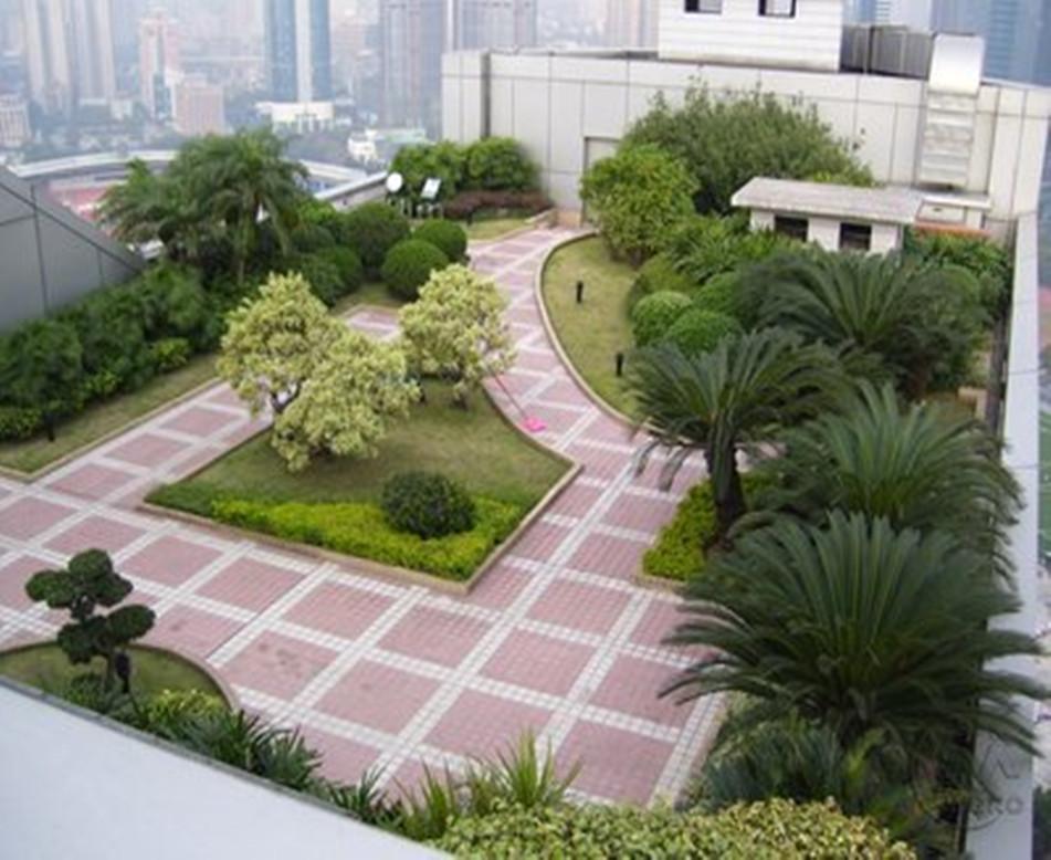 住宅區組合式屋頂綠化設計