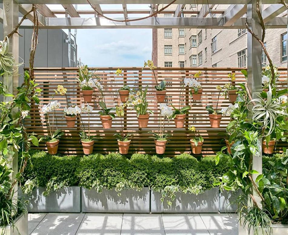 組合式屋頂綠化在別墅區的應用