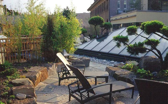 陕西屋顶绿化公司告诉你屋顶花园植物选什么?