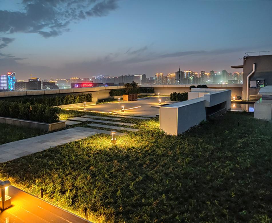 西安航天城屋顶花园项目