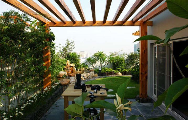 夏季降温妙招,屋顶绿化了解一下