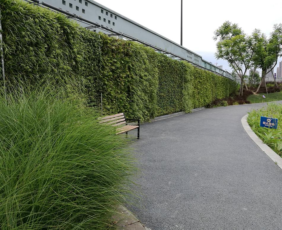公园立体绿化墙