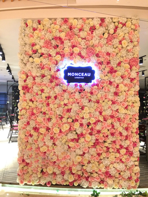 商场仿真植物墙设计