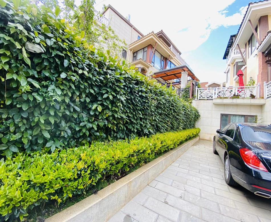 别墅区植物墙设计就找西安文源景观