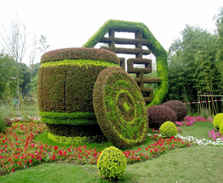 公园创意绿雕设计就找文源景观
