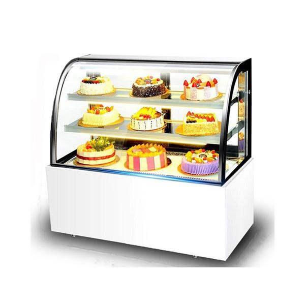 西安圆弧蛋糕柜