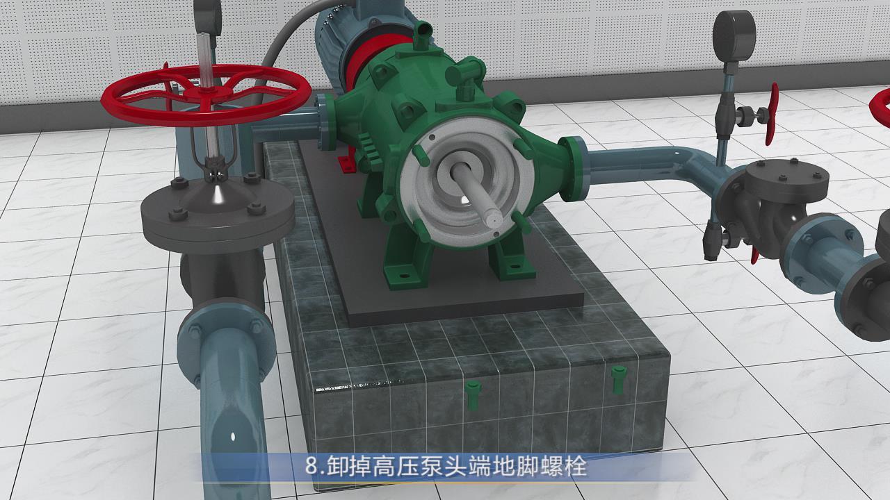 藍天宣傳片案例-多級離心泵拆卸與組裝