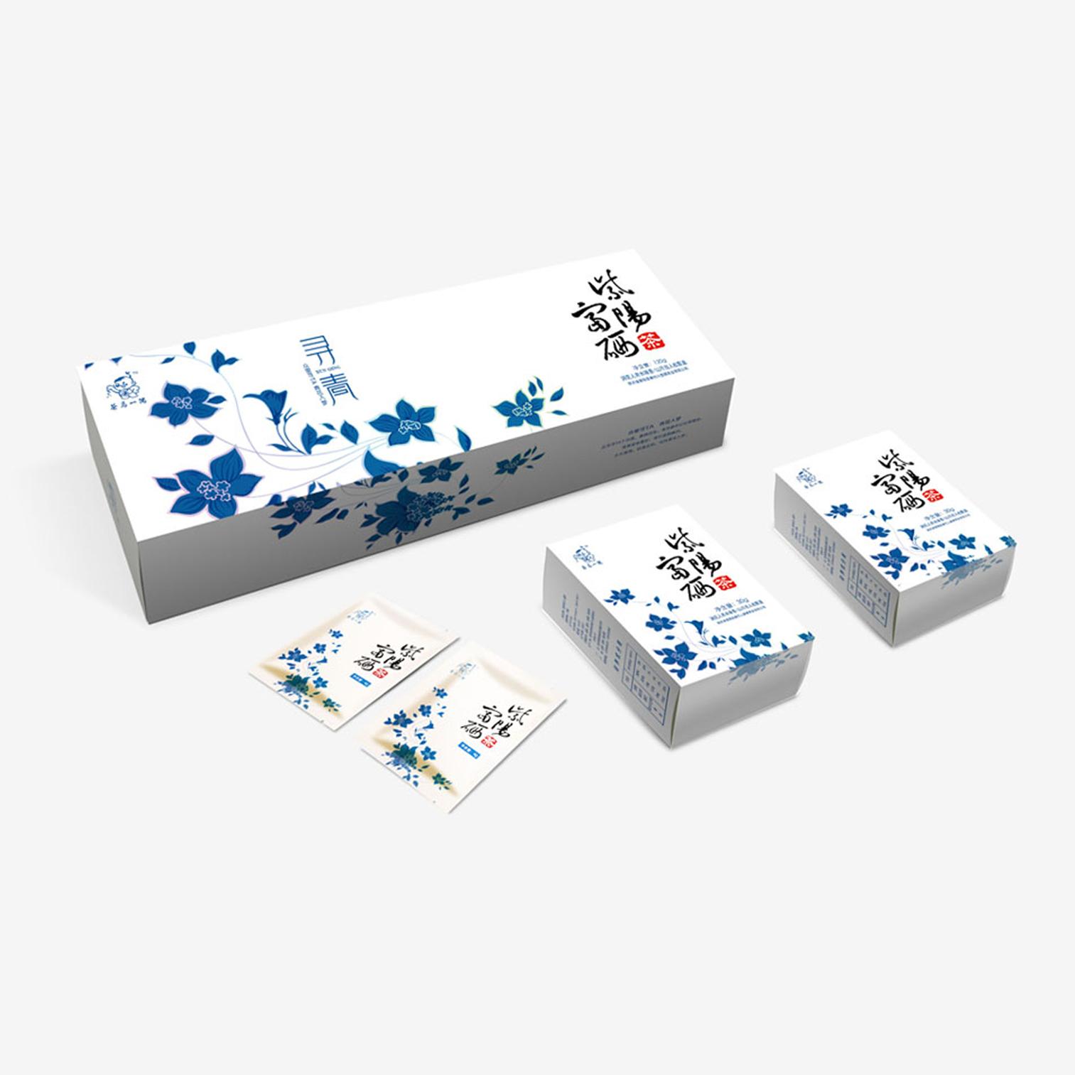 秦巴山茶叶包装设计