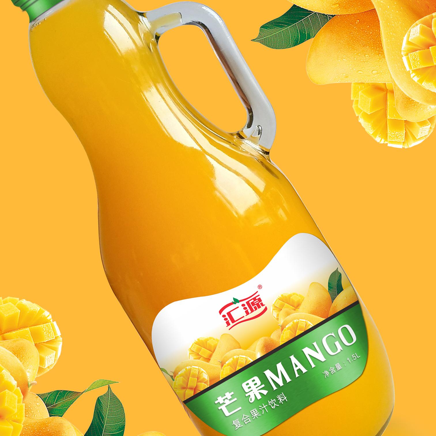 汇源果汁包装升级