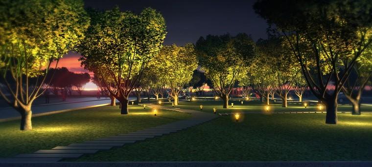 景观照明设计打造适宜城市个性鲜明的夜景