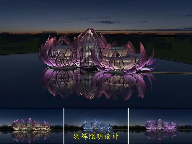 大雁塔北广场室外照明设计采用灯具及其科学