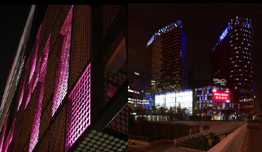 商业综合体夜景照明设计
