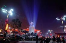 西安照明工程公司承接了近期的大型项目