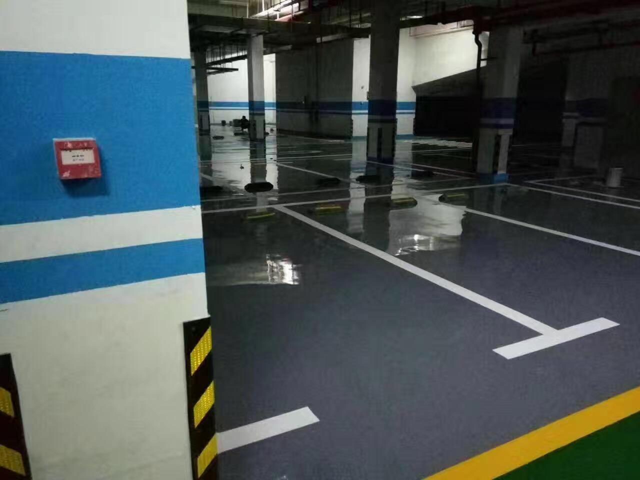 咸阳画停车场线