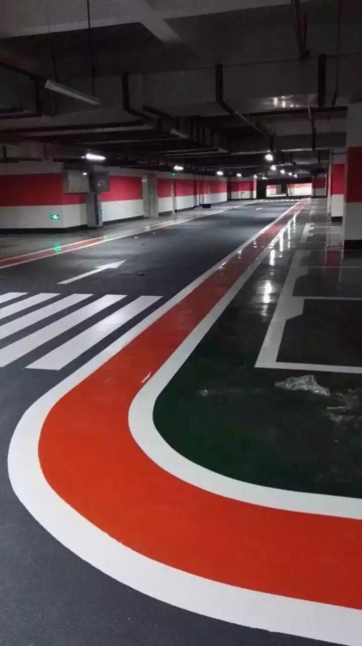 停车场划线1