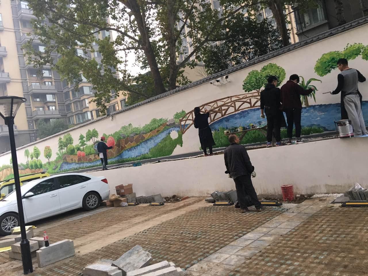 墙体绘画5