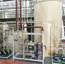 陕西机加工清洗含油废水处理工程