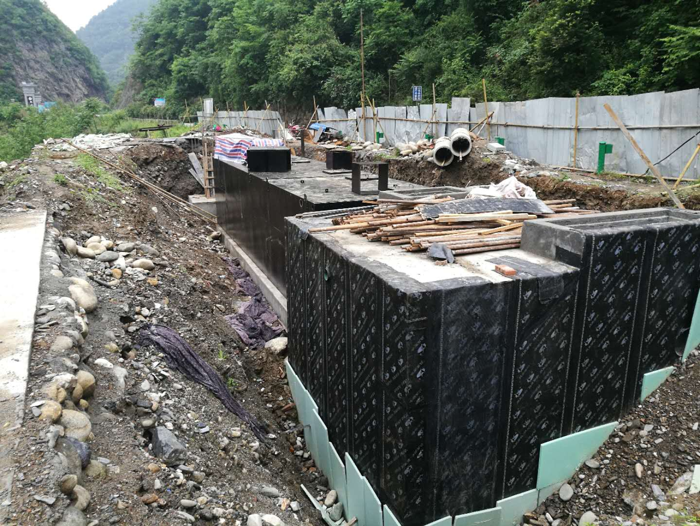 污水处理设备施工