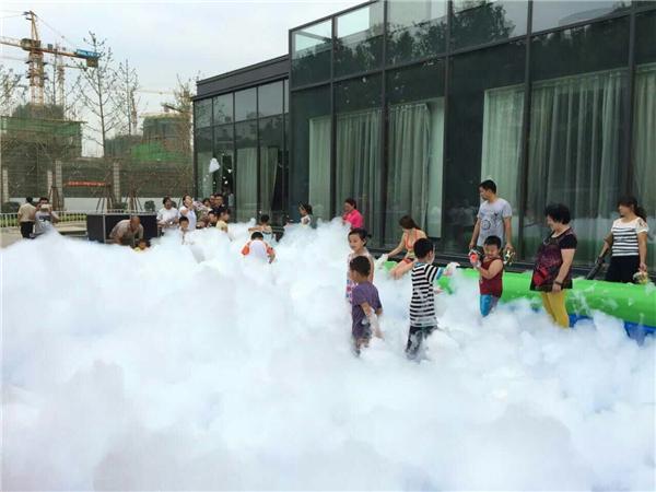 陜西泡沫狂歡活動道具