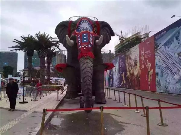 機械大象展覽道具租賃
