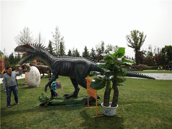 咸陽恐龍展活動道具
