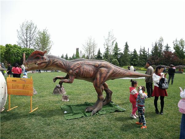 西安恐龍展活動道具