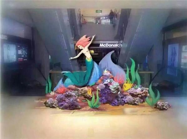 陜西海洋生物展活動道具