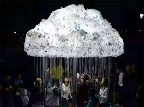 陜西云朵燈道具