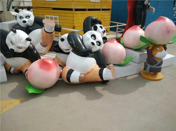 熊貓模型道具出租