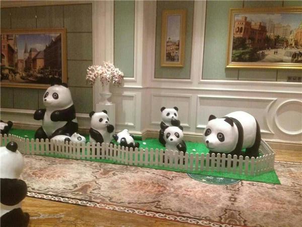熊貓模型道具租賃