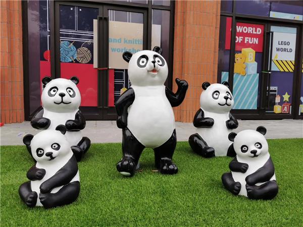 陜西熊貓展活動道具