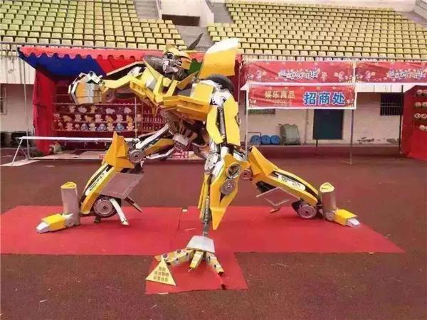 變形金剛機器人道具租賃