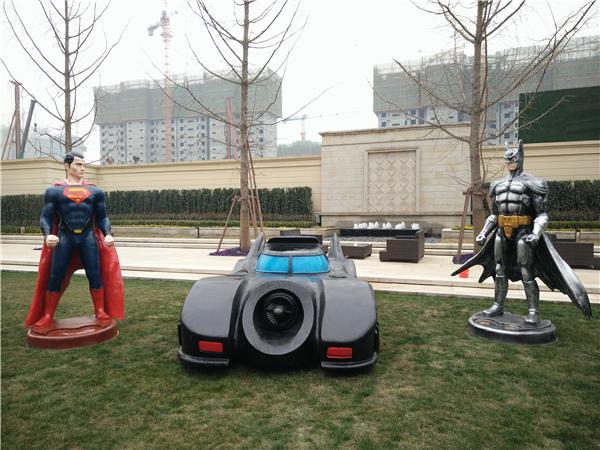 陜西蝙蝠俠超人道具