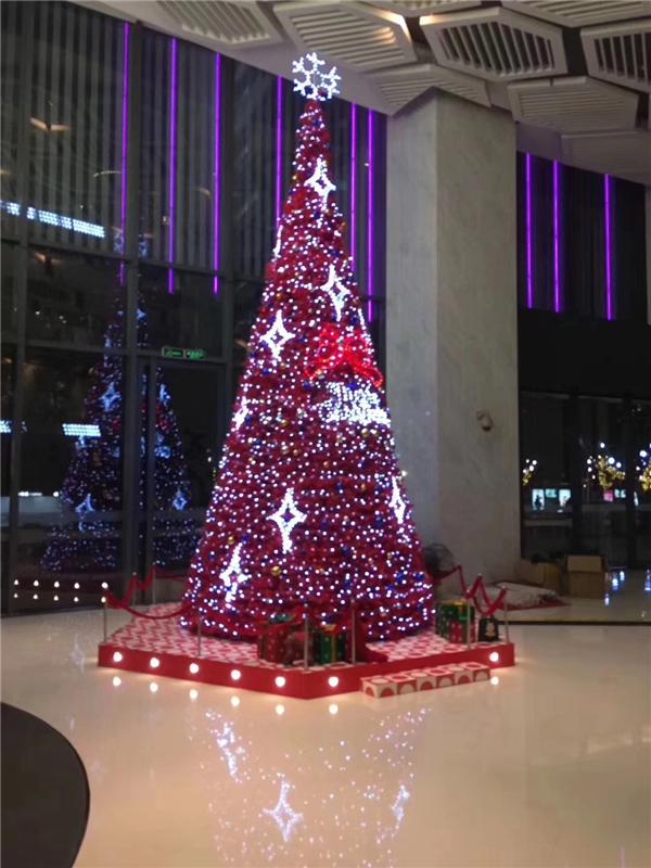 發光圣誕樹道具出租