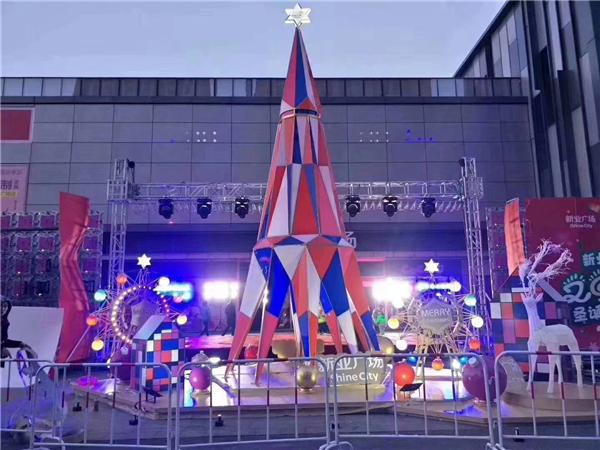 LED發光圣誕樹道具租賃