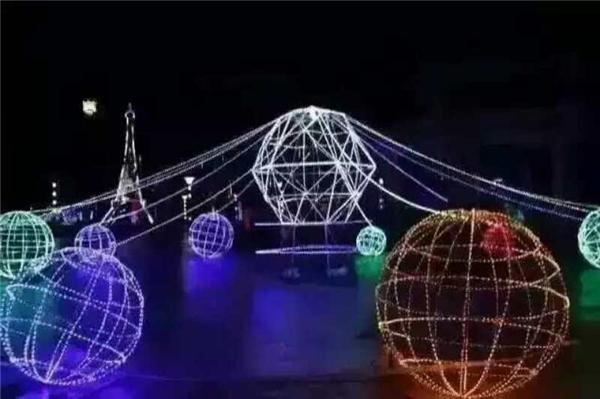 景觀亮化燈光展道具出租