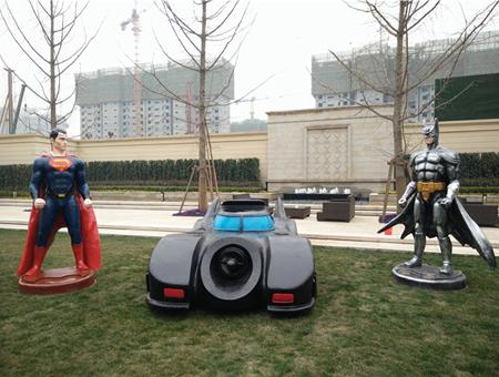 蝙蝠侠超人道具租赁