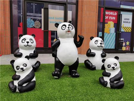 熊猫展道具租赁