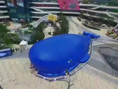 鲸鱼岛气模道具租赁