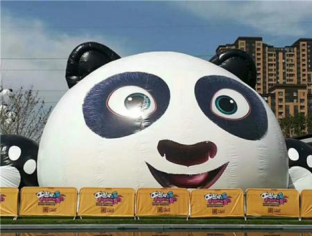 熊猫岛乐园气模道具租赁
