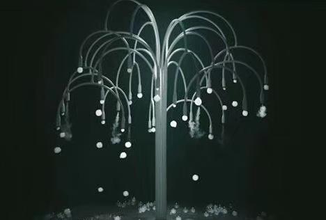 活動道具煙泡樹的設計原理是什么?