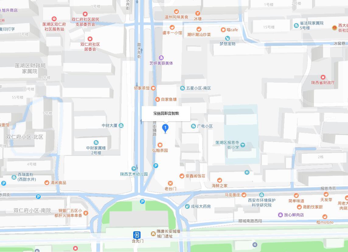宝丽昌地址地图