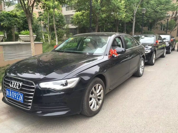 铜川王益区奥迪A6L婚车租赁价目表