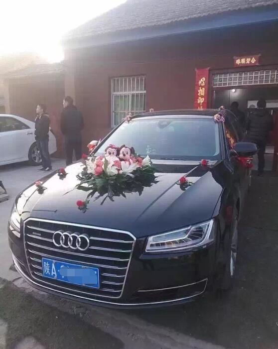 延长县奥迪A4婚车租赁服务