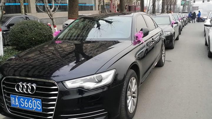 绥德县奥迪A6婚车