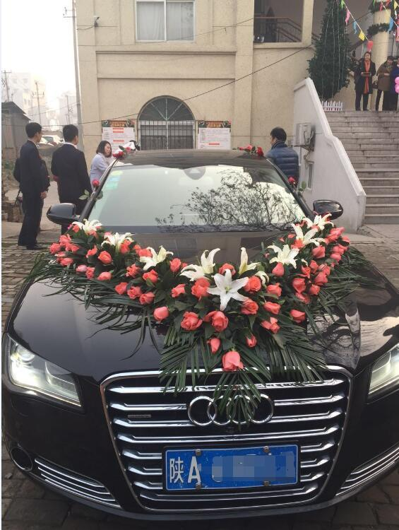 汉阴县奥迪A8婚车车队