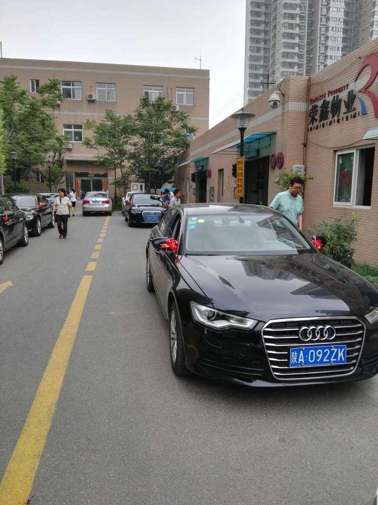 临渭区奥迪A6婚车头车租赁