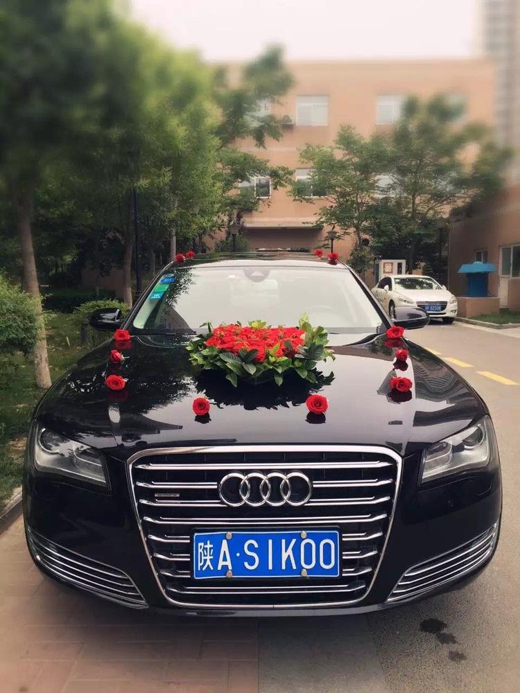 子洲县奥迪A8婚车
