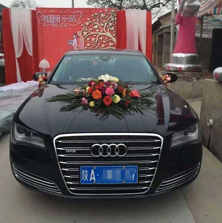 西安临潼区奥迪A6婚车租赁服务