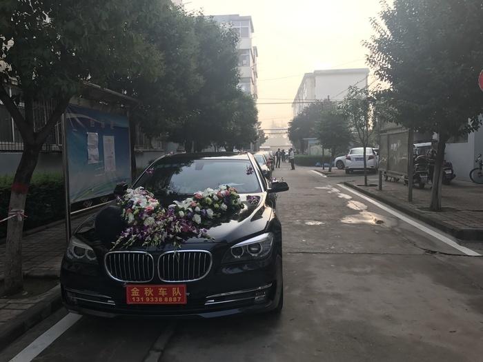 锦业路豪华婚车车队